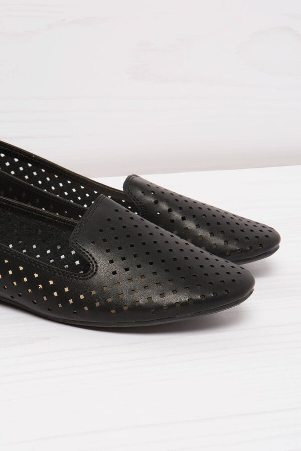 Slip-on traforate tinta unita