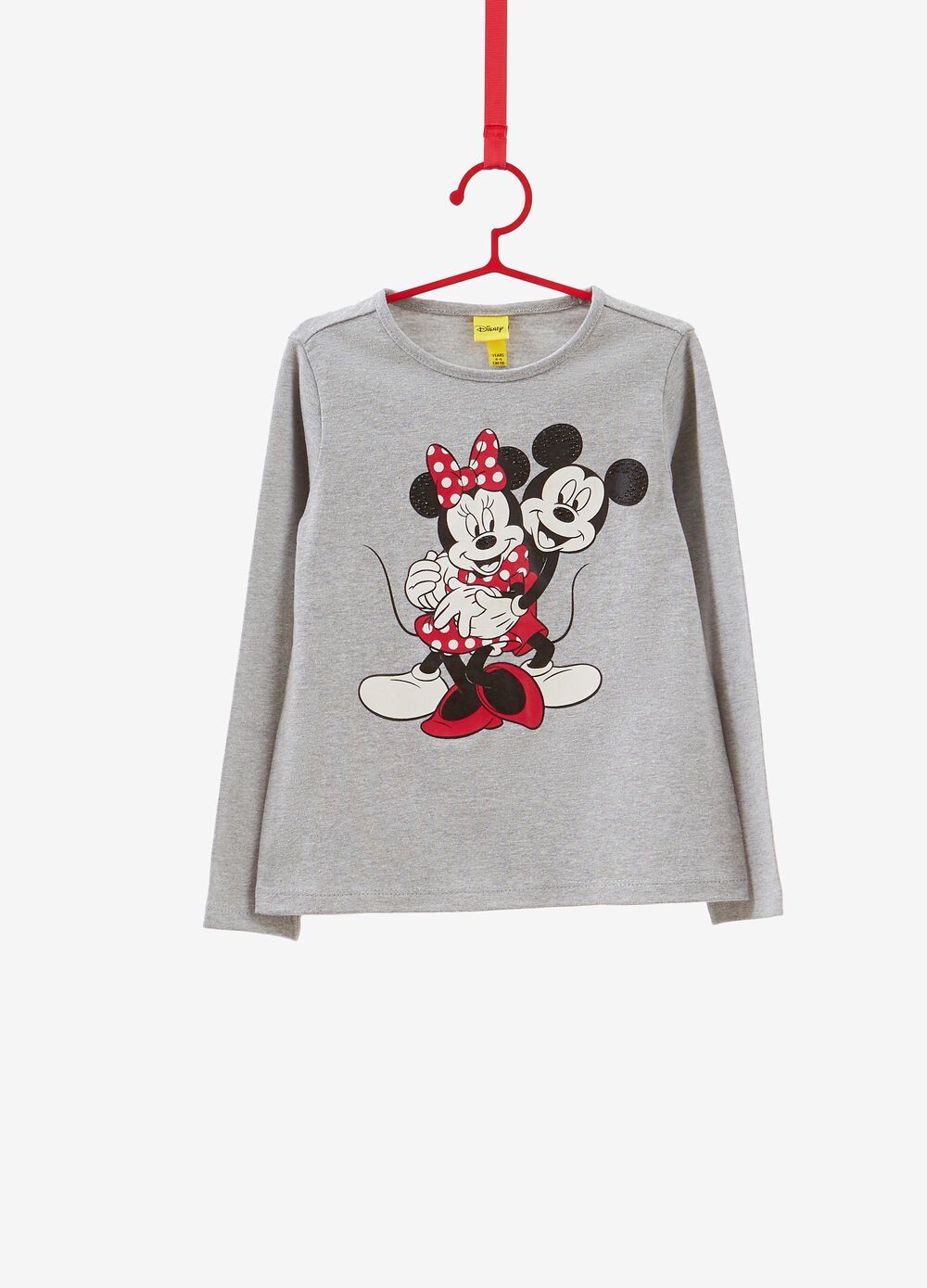 Mickey and Minnie Mouse T-shirt with studs