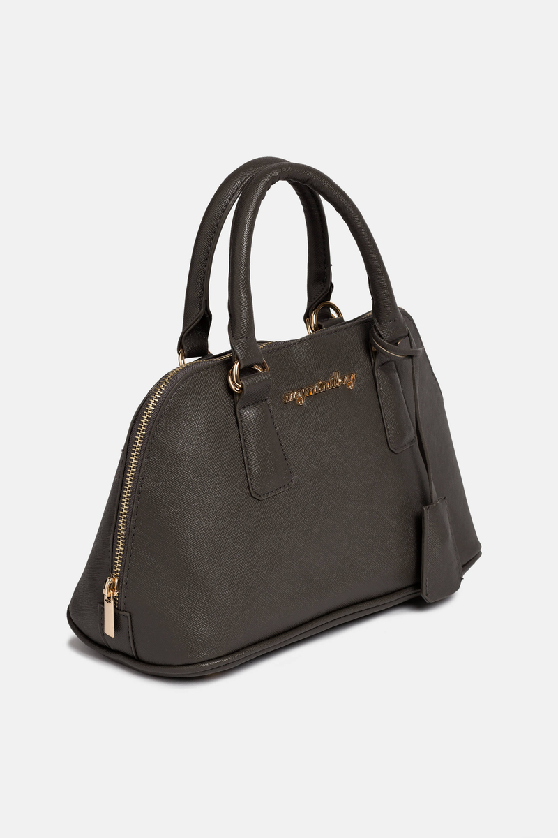 Imitation leather trunk bag image number null