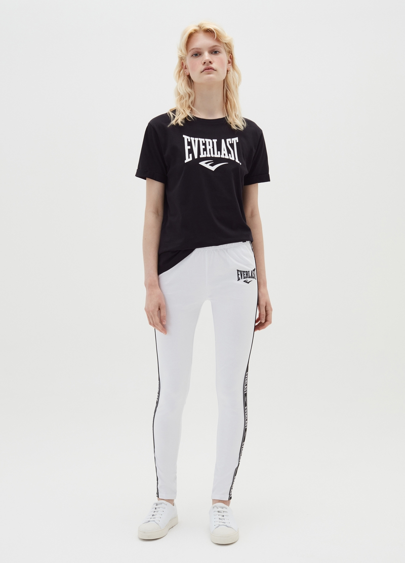 Leggings stretch con bande laterali Everlast image number null