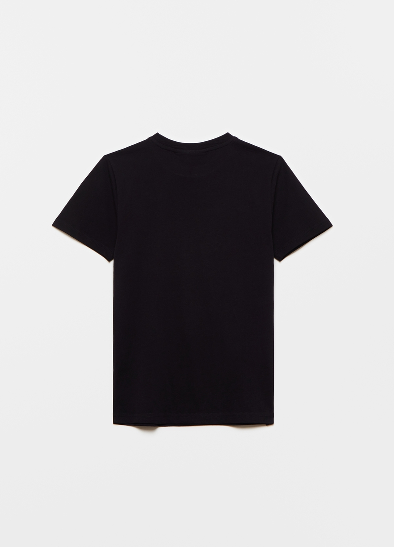 Cotton T-shirt with PlayStation print image number null
