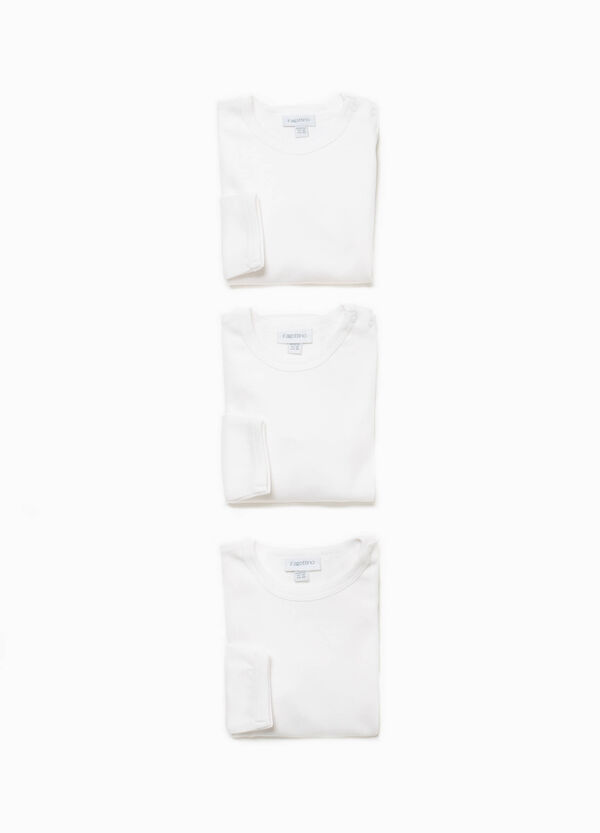 Three-pack bodysuits in 100% organic cotton | OVS