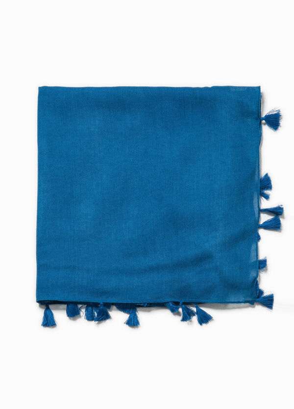 Scarf with tassels | OVS