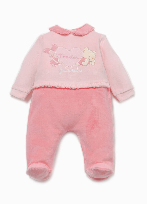 Onesie with Winnie the Pooh patch and flounce | OVS