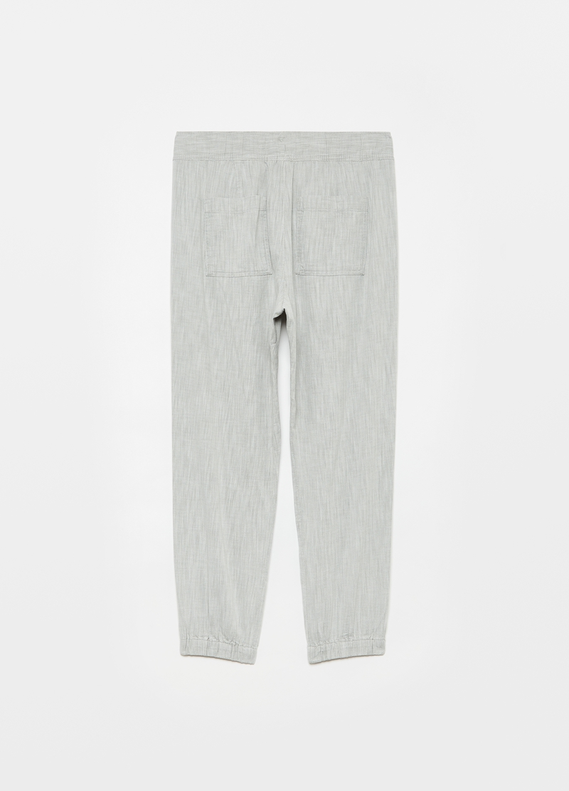 GAP Joggers in twill con coulisse image number null