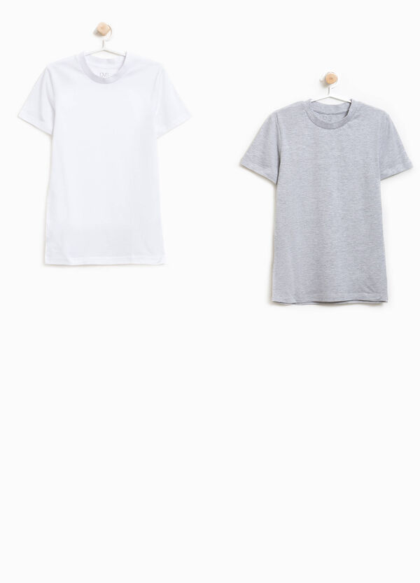 Two-pack 100% organic cotton undershirts | OVS