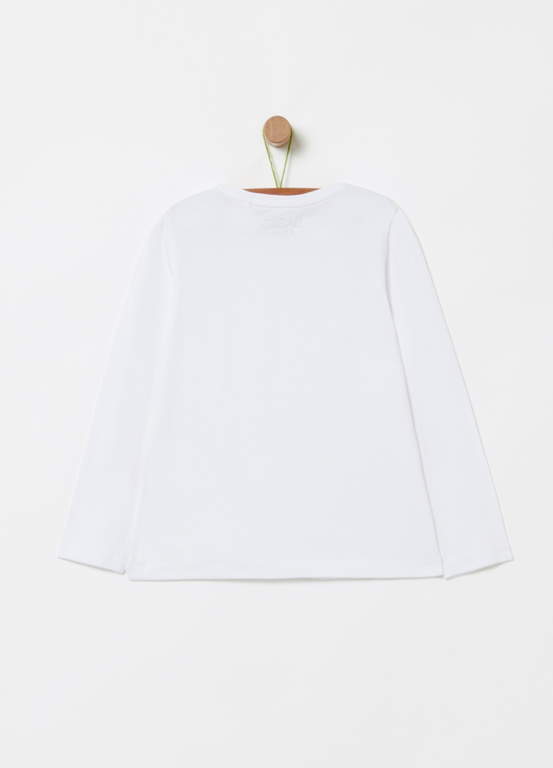 T-shirt in cotone stretch image number null
