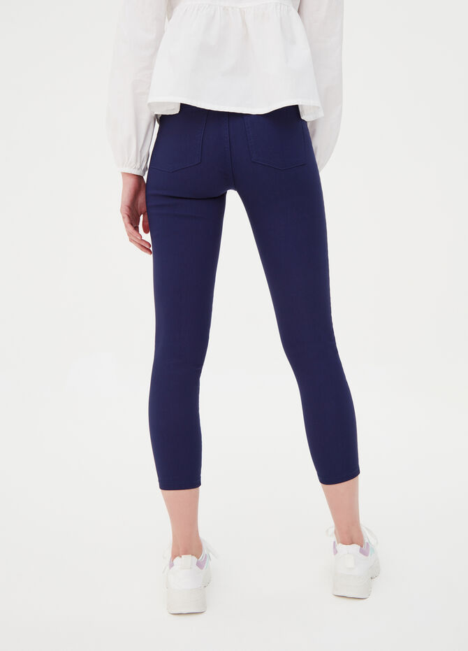 High waist stretch jeggings