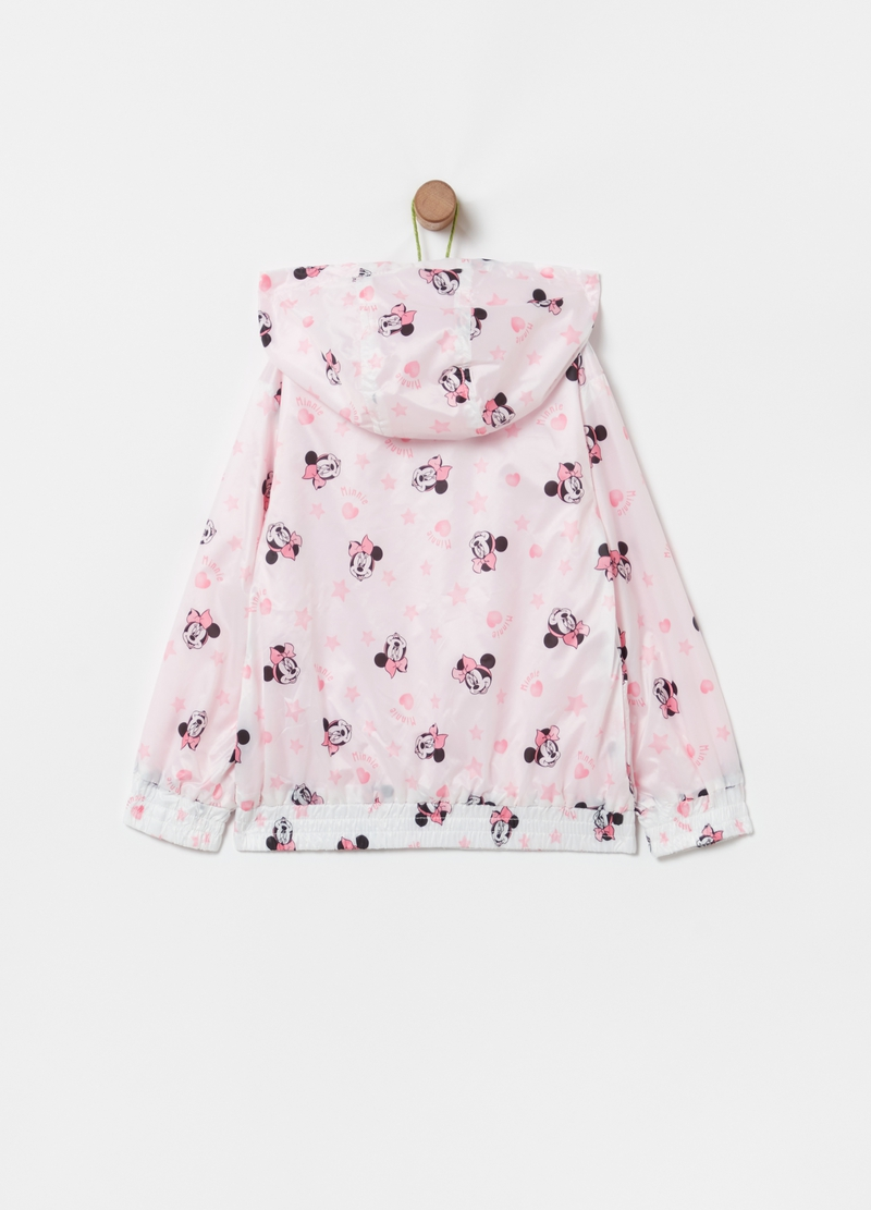 Lightweight jacket with all-over Minnie Mouse print image number null