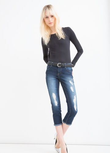 Jeans skinny fit stretch delavé
