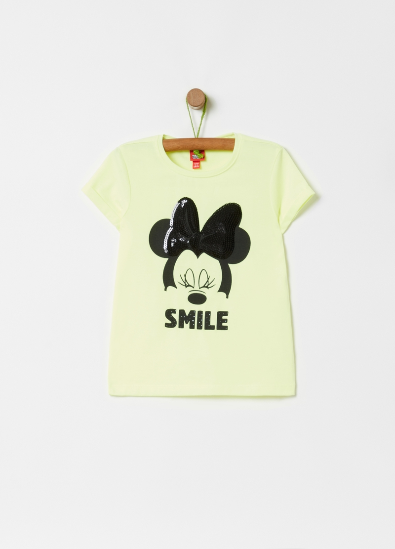 T-shirt with Disney Minnie Mouse print image number null