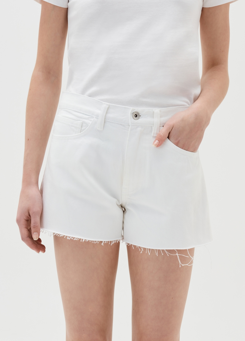 Shorts in denim Baby Angel image number null