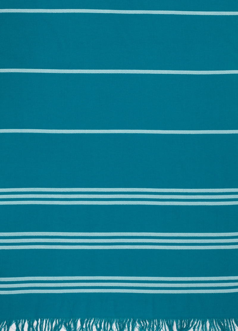 Beach towel with striped pattern image number null