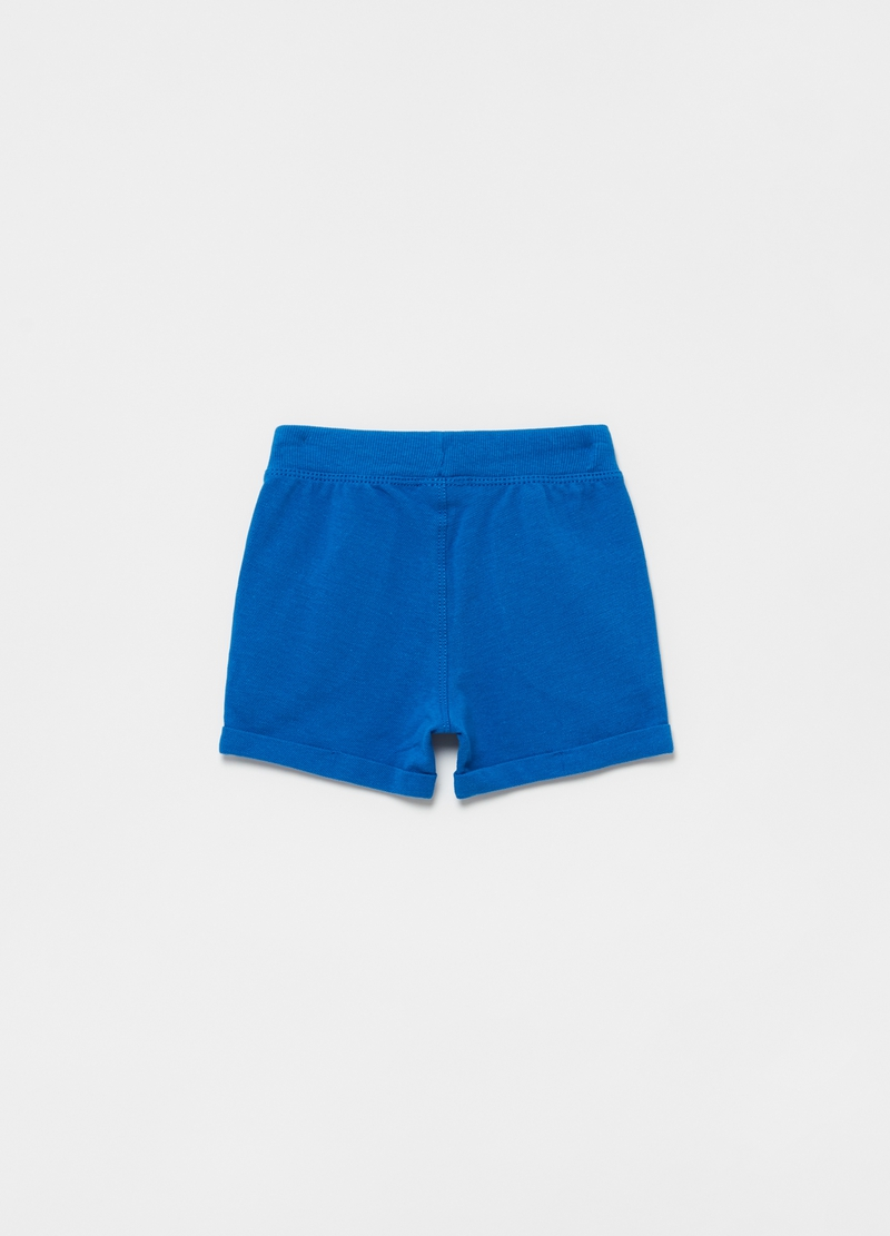 Shorts in 100% cotton piquet image number null