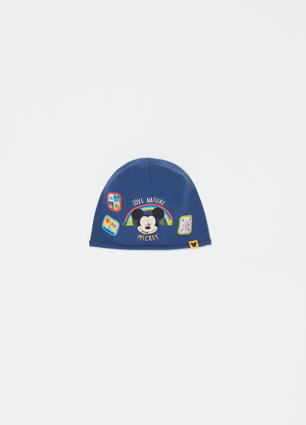 Hat with Disney Mickey Mouse print