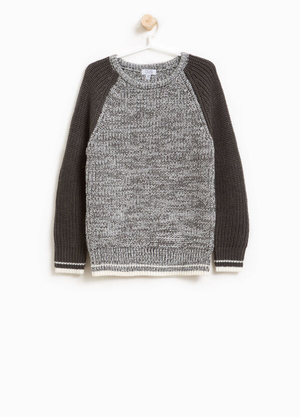 Knitted pullover in alpaca wool | OVS