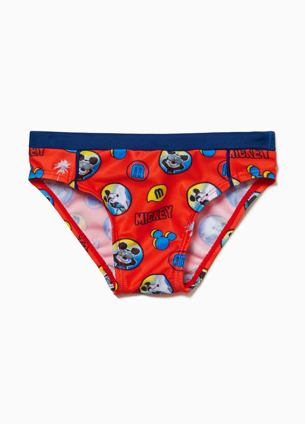 Mickey Mouse stretch swim briefs