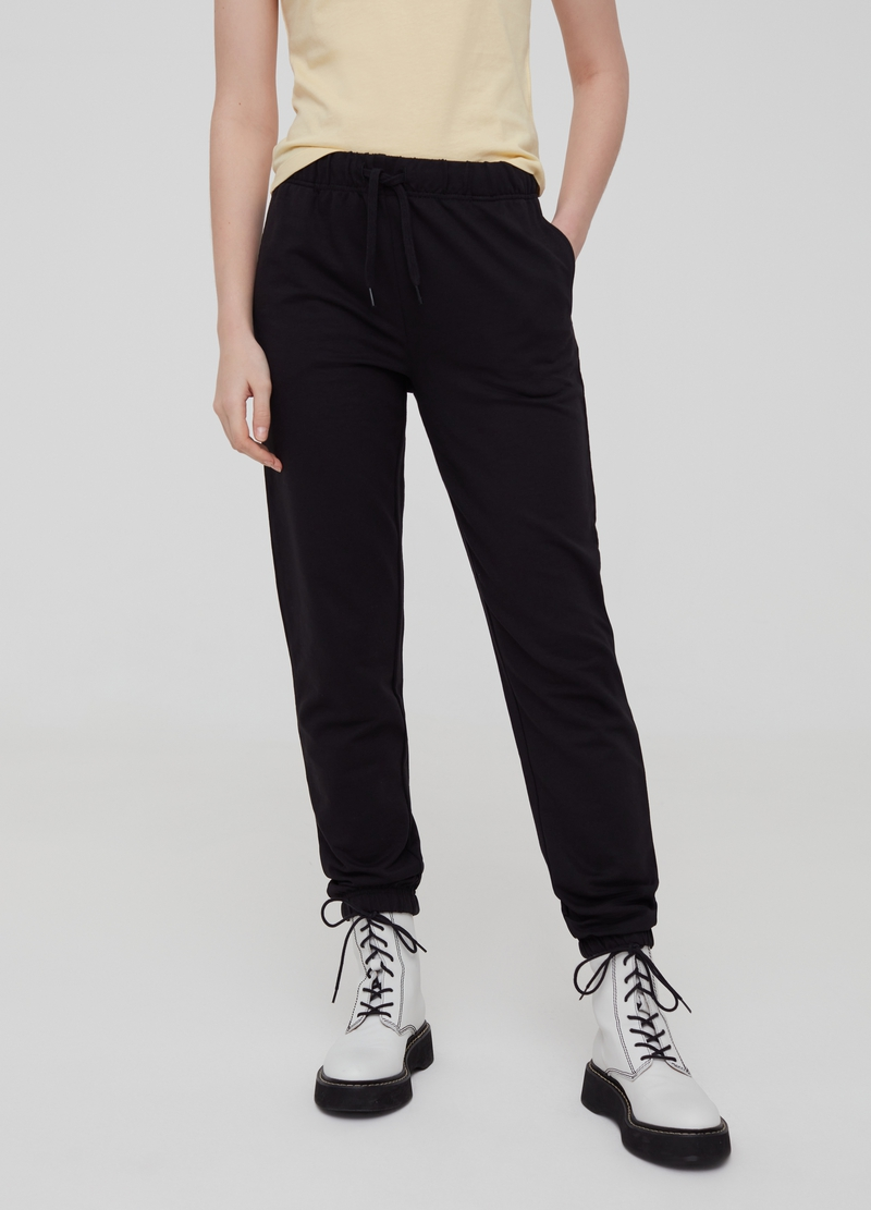 Pantaloni con coulisse e tasche image number null