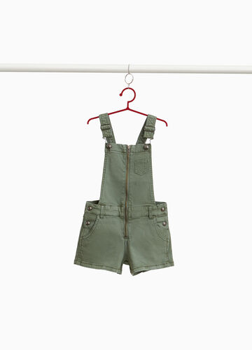 Dungarees in stretch cotton