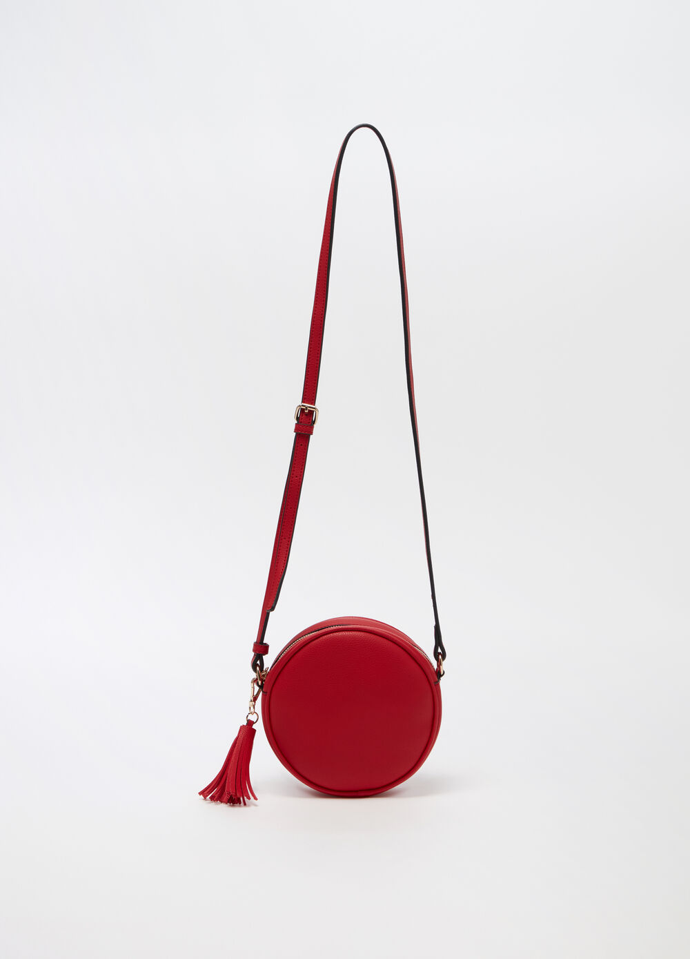 Circle bag cross body con zip