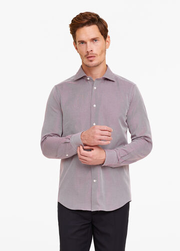 Camicia formale slim fit fantasia