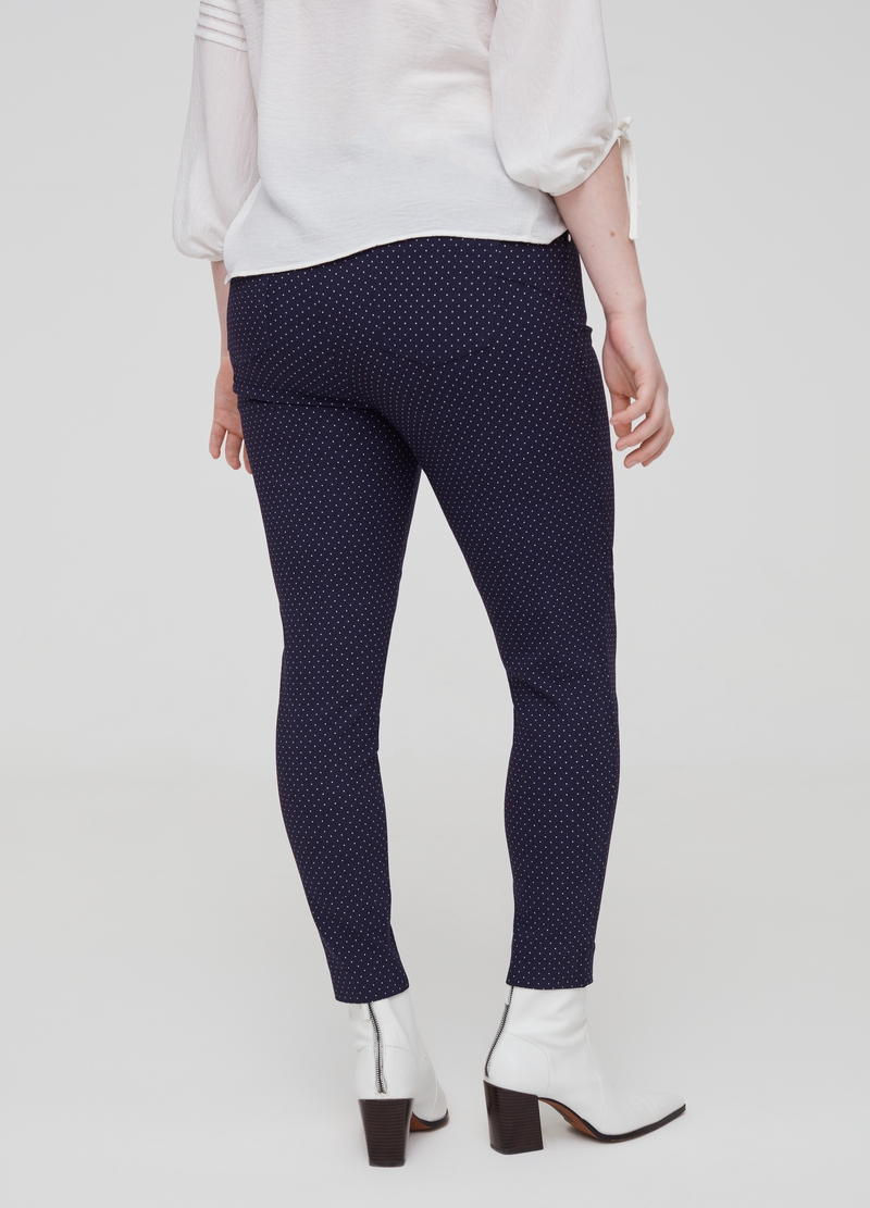 Curvy polka dot trousers image number null