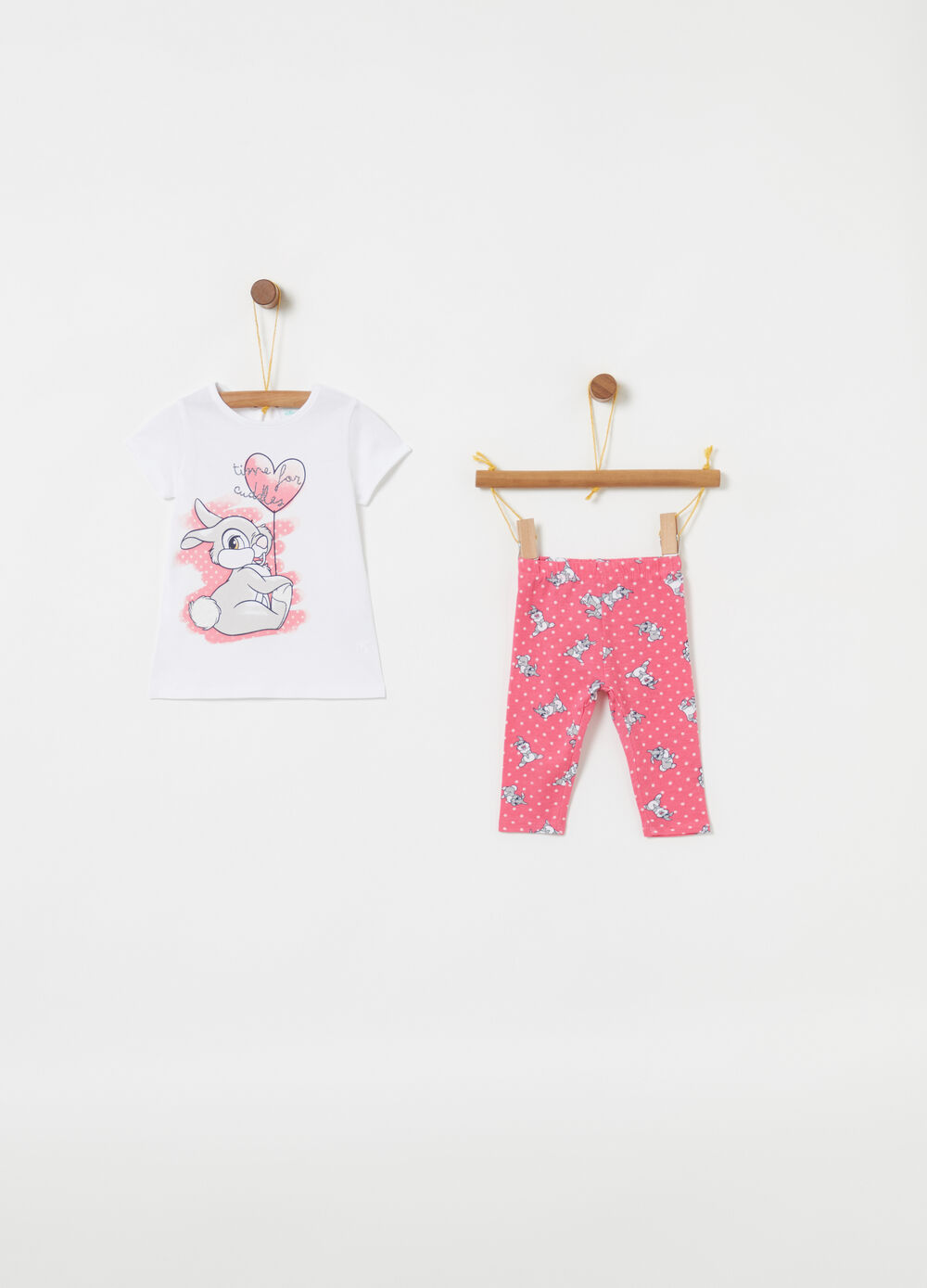 Jogging set biocotton Disney Baby Bambi