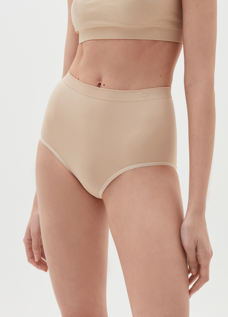 The One seamless high-waisted briefs image number null
