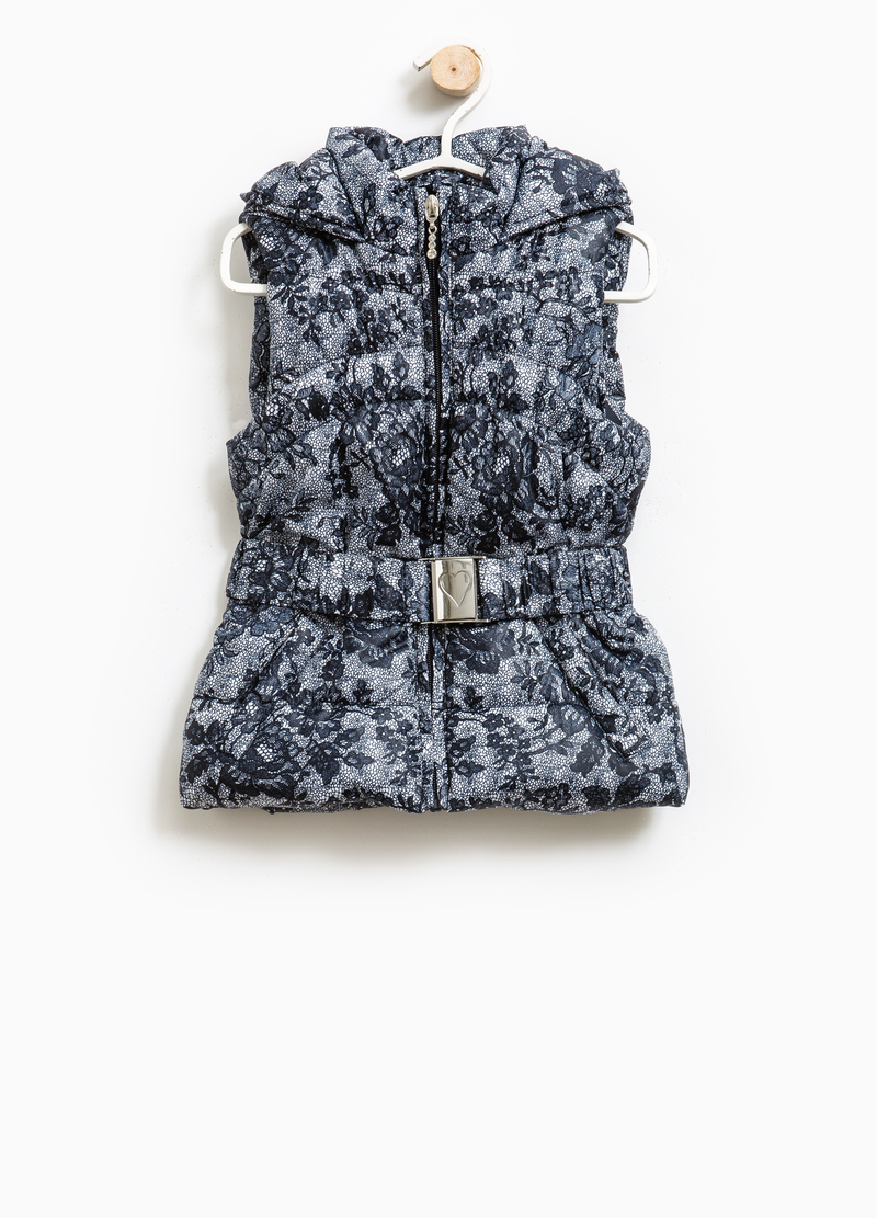 Gilet imbottito stampa all-over image number null