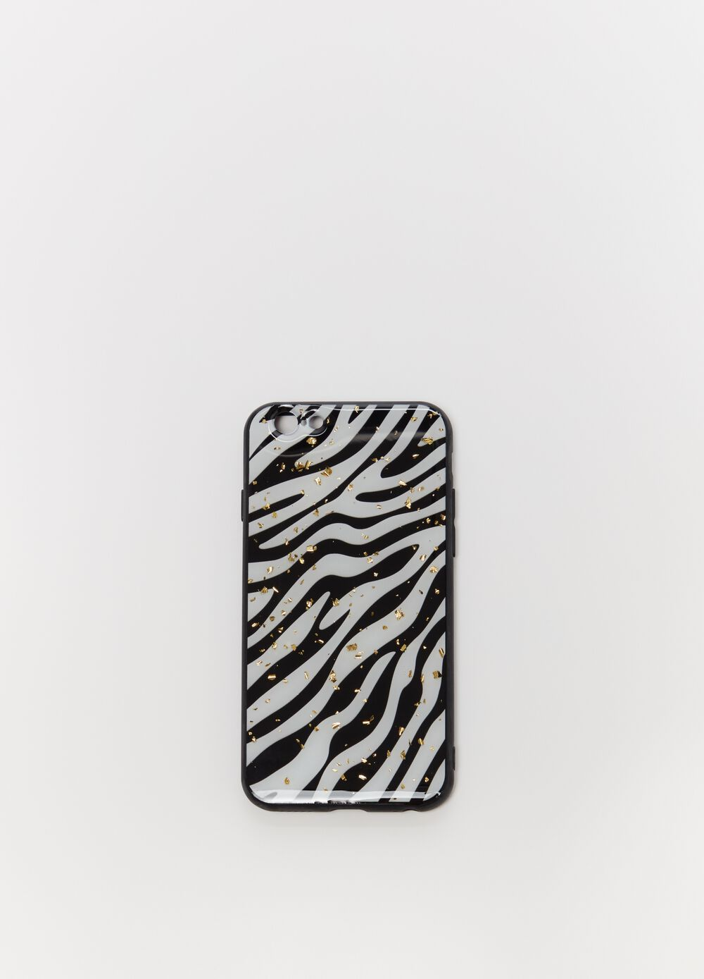 Cover for iPhone with zebra print