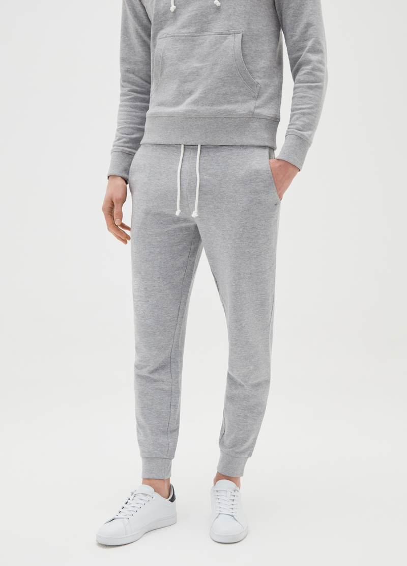 Joggers in felpa mélange image number null
