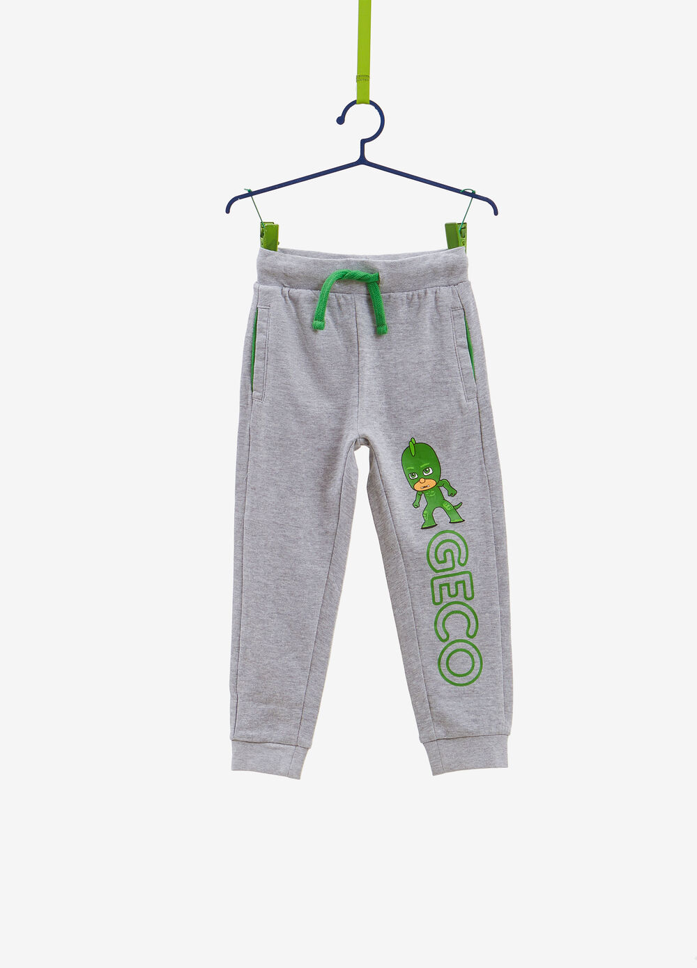 Trousers in cotton blend with PJ Masks print