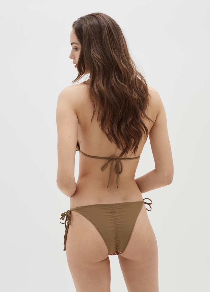 Bikini briefs with sequins image number null