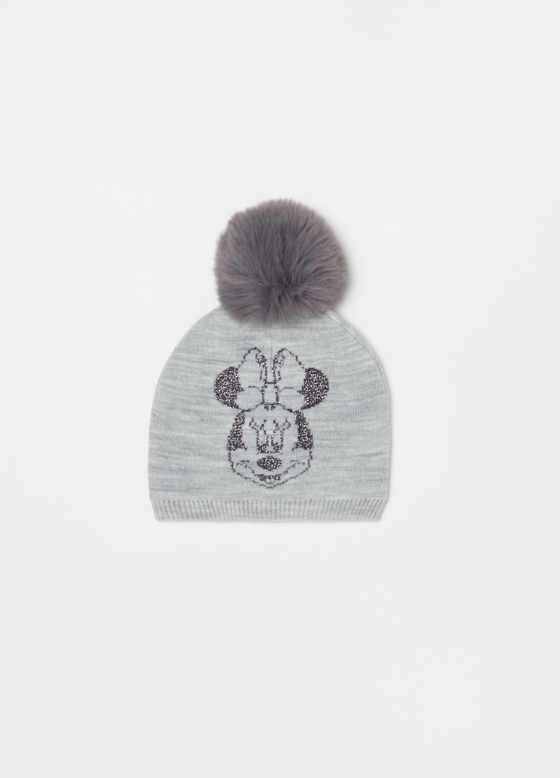 Disney Minnie Mouse pompom hat image number null