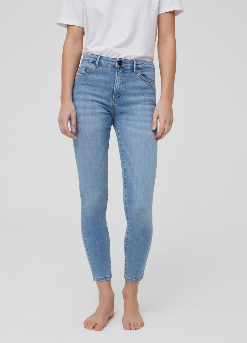Jeans a vita alta stretch image number null