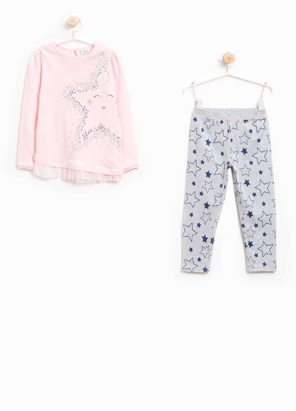 Better Cotton pyjamas with tulle and glitter | OVS