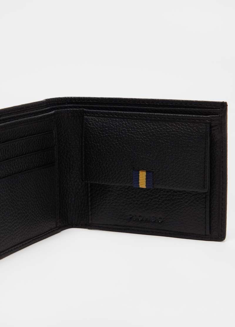 PIOMBO rectangular leather wallet image number null