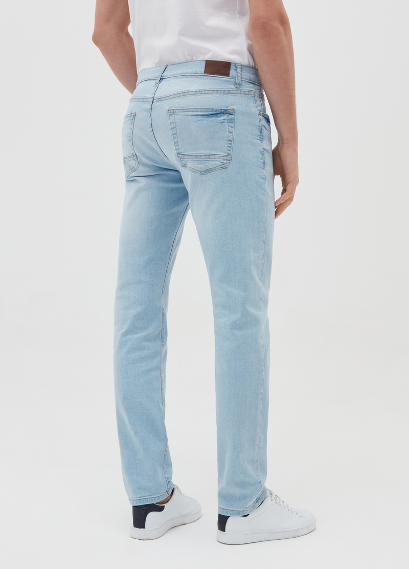Jeans slim fit stretch cinque tasche image number null