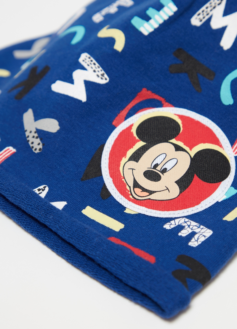 Jersey hat with Disney Mickey Mouse print image number null