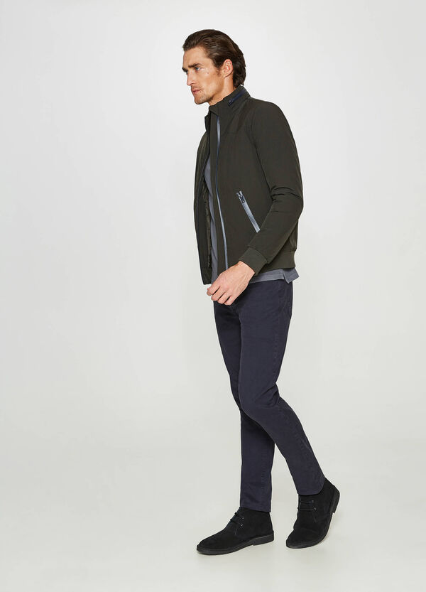 Rumford stretch jacket with high neck | OVS