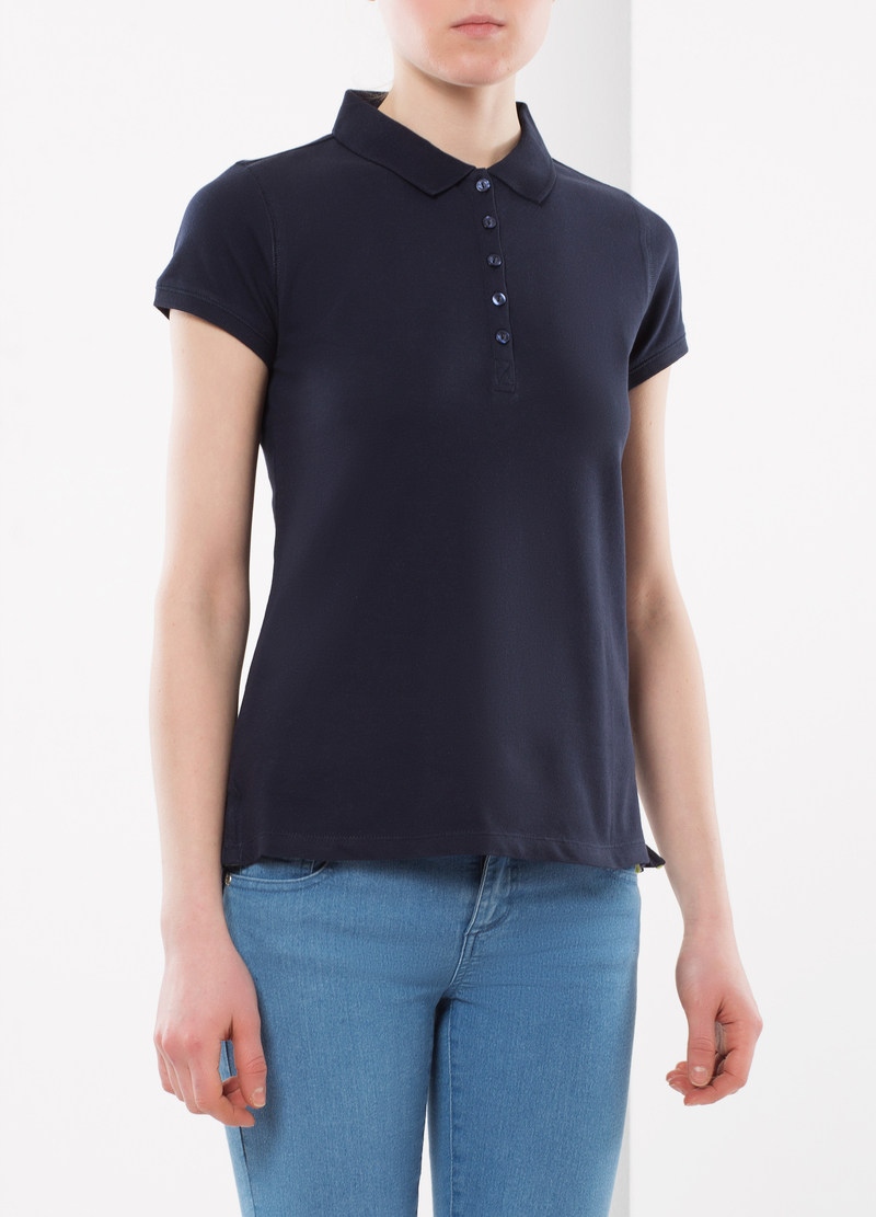 Five-button polo shirt image number null
