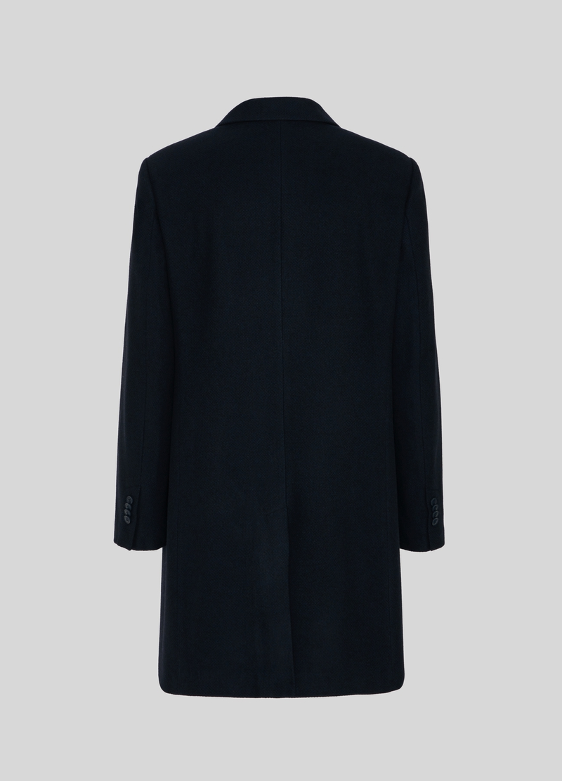 PIOMBO wool blend coat with lapels image number null