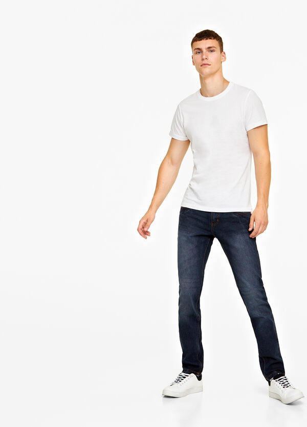 Jeans slim fit washed-out