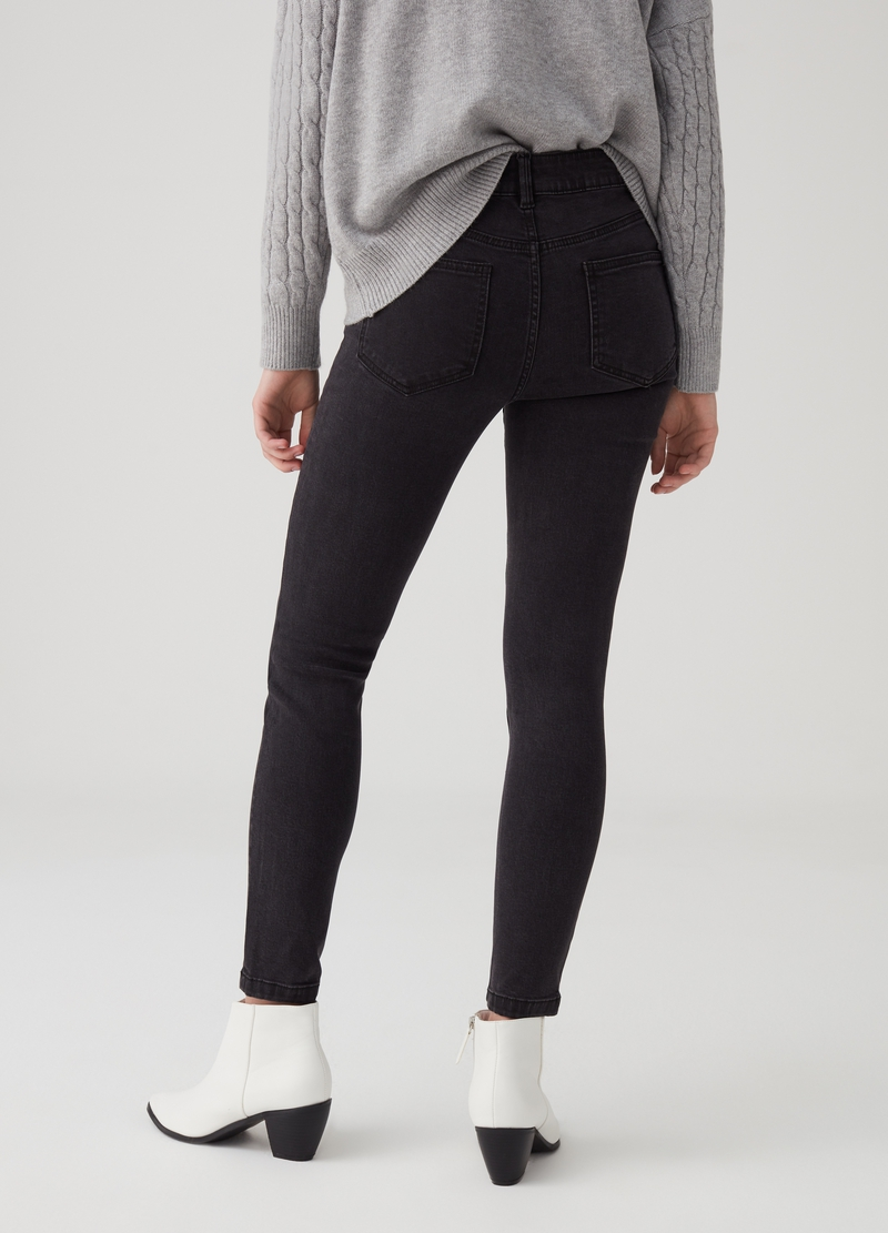 Jeans superskinny fit con Lyocell image number null
