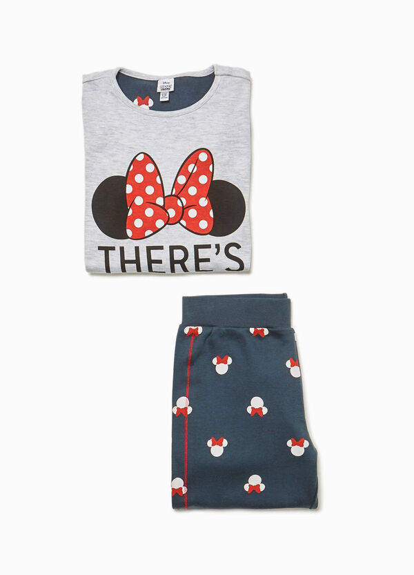 Pyjamas with print and Minnie Mouse pattern