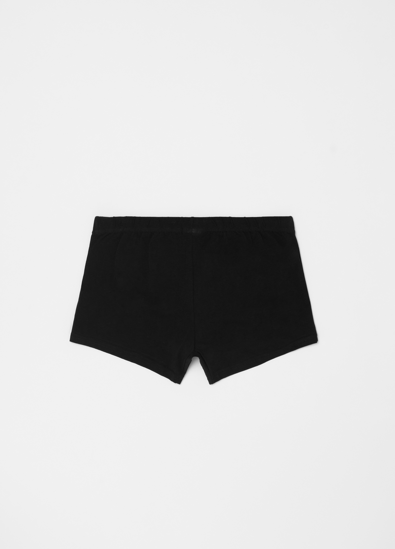 Stretch organic cotton boxer shorts image number null