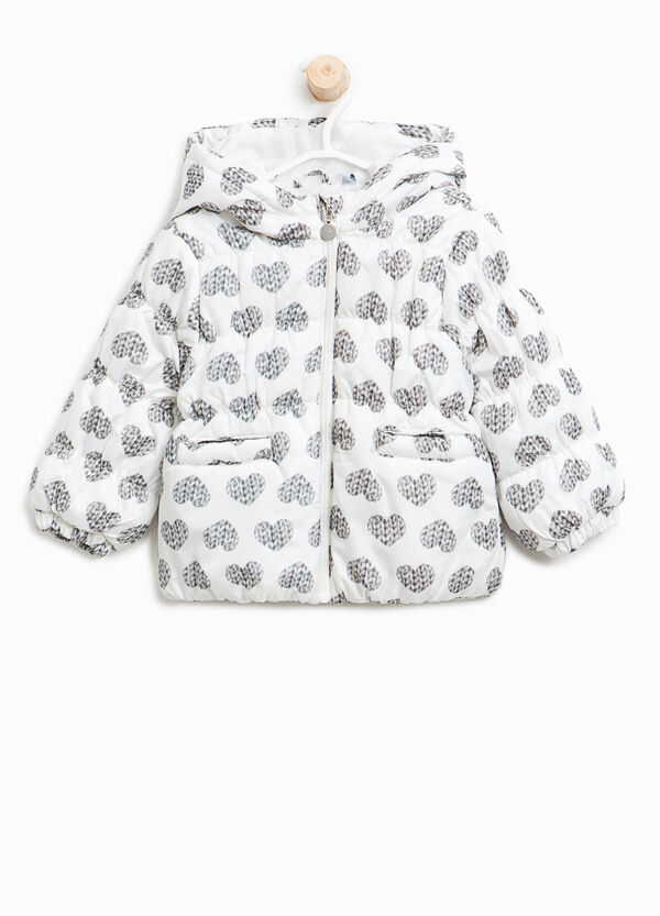 Jacket with heart pattern | OVS