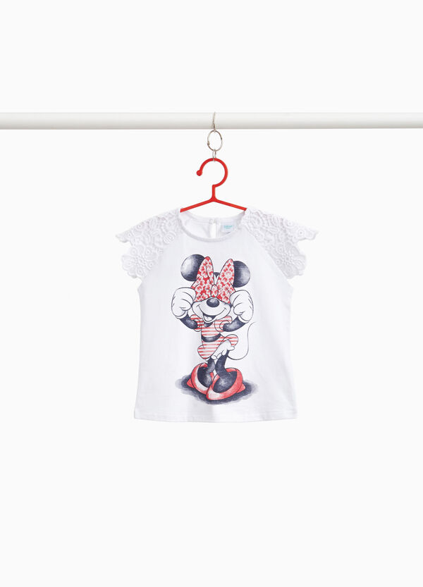 100% cotton Minnie Mouse T-shirt