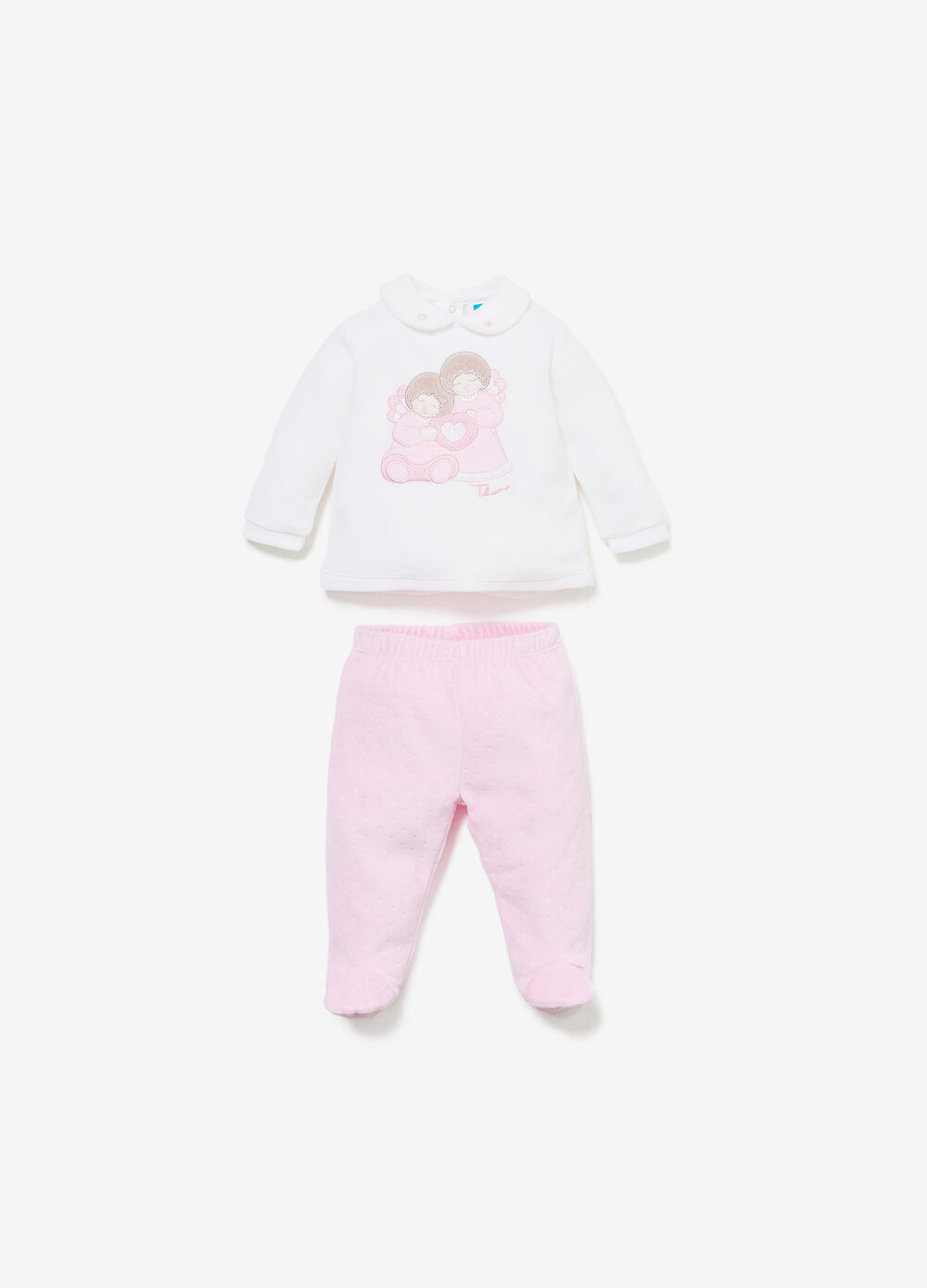 THUN T-shirt and baby leggings set