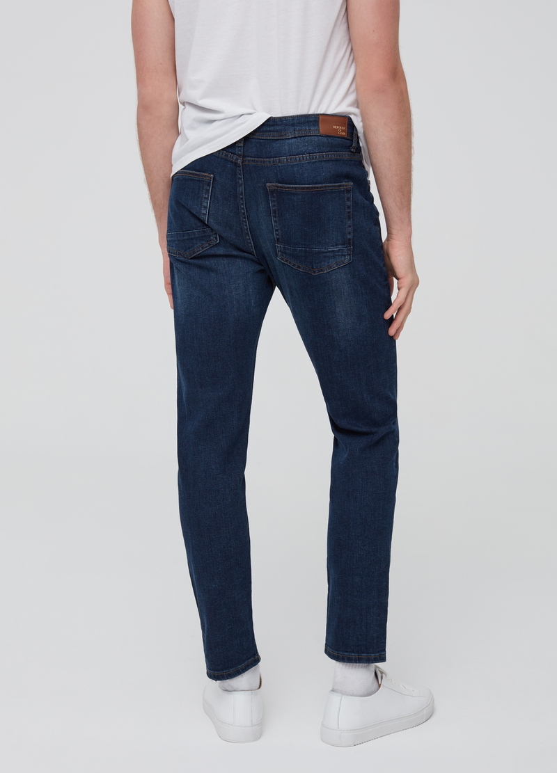 Jeans loose fit stretch image number null